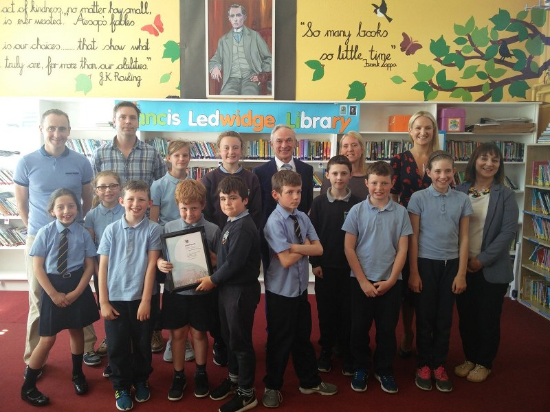 Visit of Minister of Education and Skills, Richard Bruton